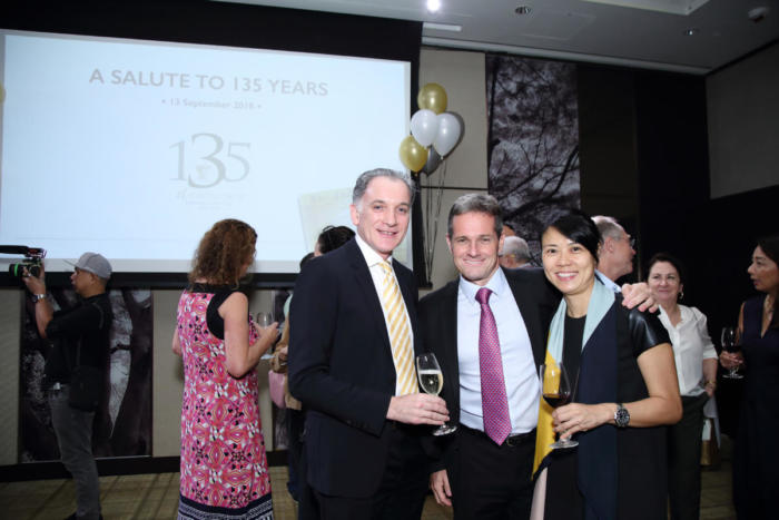 135th Anniversary Cocktail - 13 Sept 2018