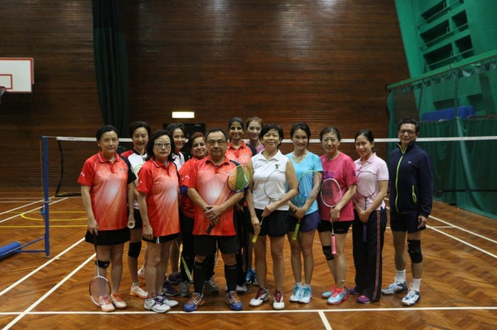 Badminton Interclub Challenge - 11 Jan 2018