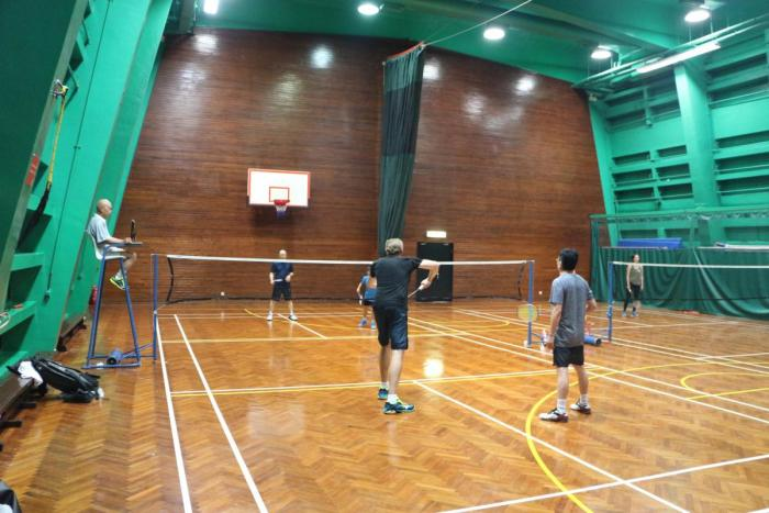 Club Championship Badminton Tournament - 8 Dec 2018