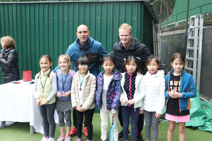 Junior Mini Tennis Charity Tournament - 4 Feb 2018
