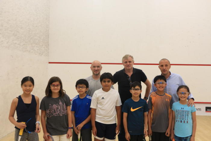 Junior Squash Club Championship 28 Oct 2018
