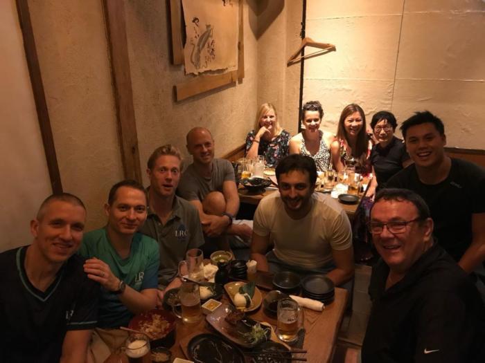 dinner 14 July