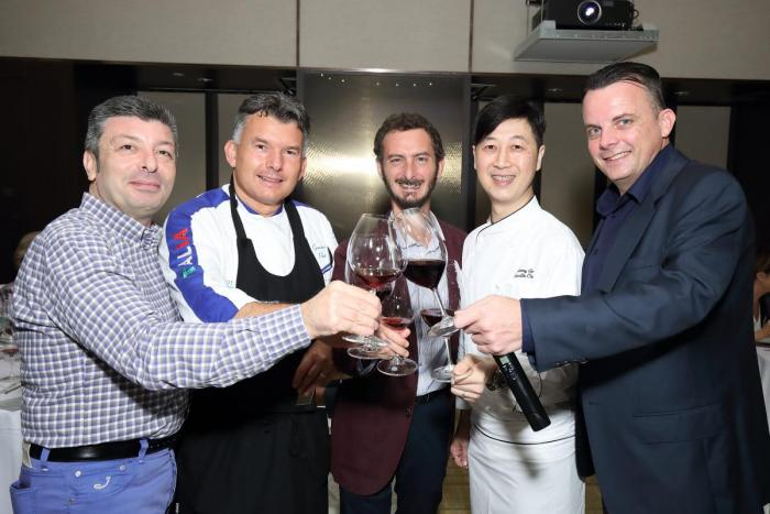 Michelin Star Guest Chef Graziano Prest Dinner - 10 October 2019