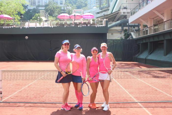 Pink Ribbon Tennis 2018