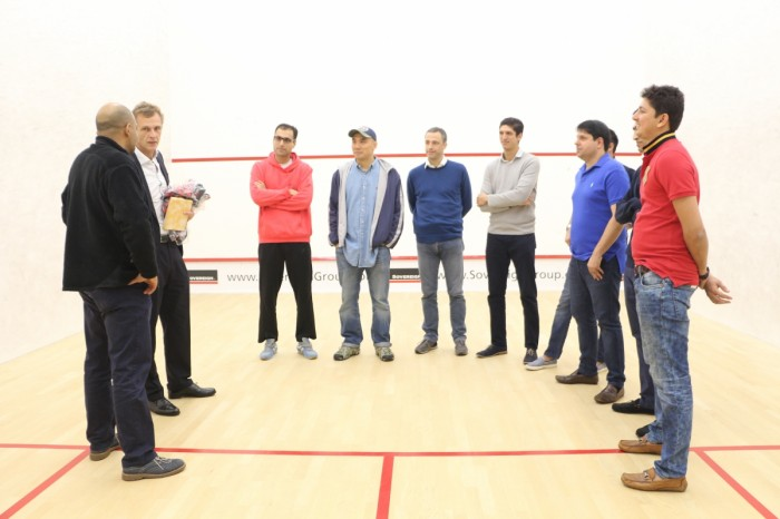 Squash Friendly Match - 23 Feb 2018