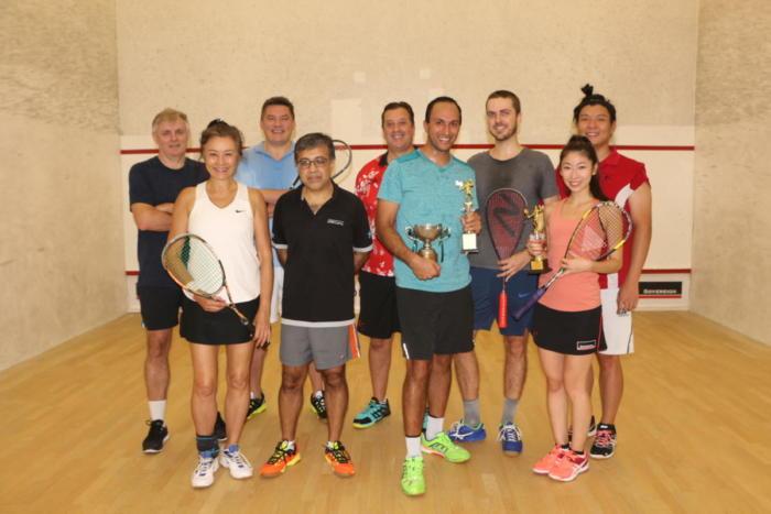 Squash Club Championships - 6 Oct 2018
