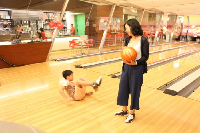 Mother & Son Bowling Party